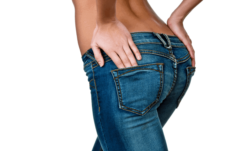 Vrouw zonder muffin top