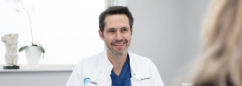 Header dr. Maarten Doornaert - Plastisch chirurg