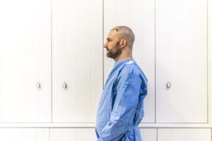 Haartransplantatie Arjan Benning - voorfoto links