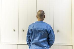 Haartransplantatie Arjan Benning - voorfoto achter