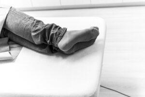Haartransplantatie Arjan Benning - warme voeten