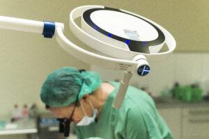 Haartransplantatie Arjan Benning - OK-lamp