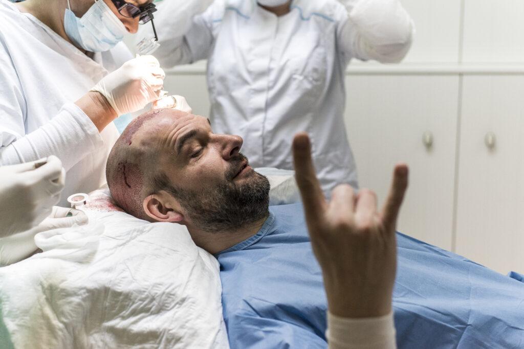 Haartransplantatie fue bij ABC Clinic