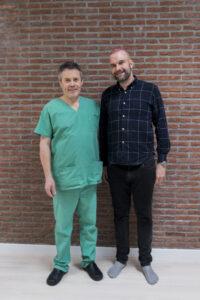 Haartransplantatie Arjan Benning - arts en patiënt