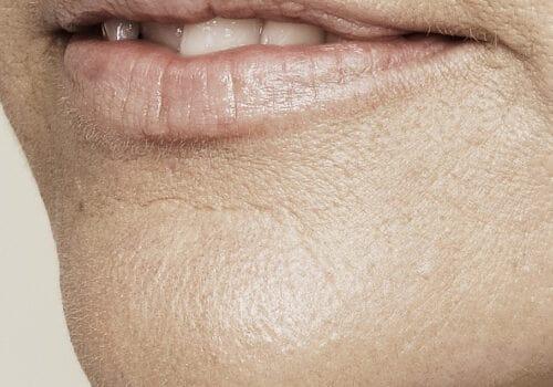 Lip smoothie voor